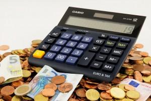 calculadora con dinero